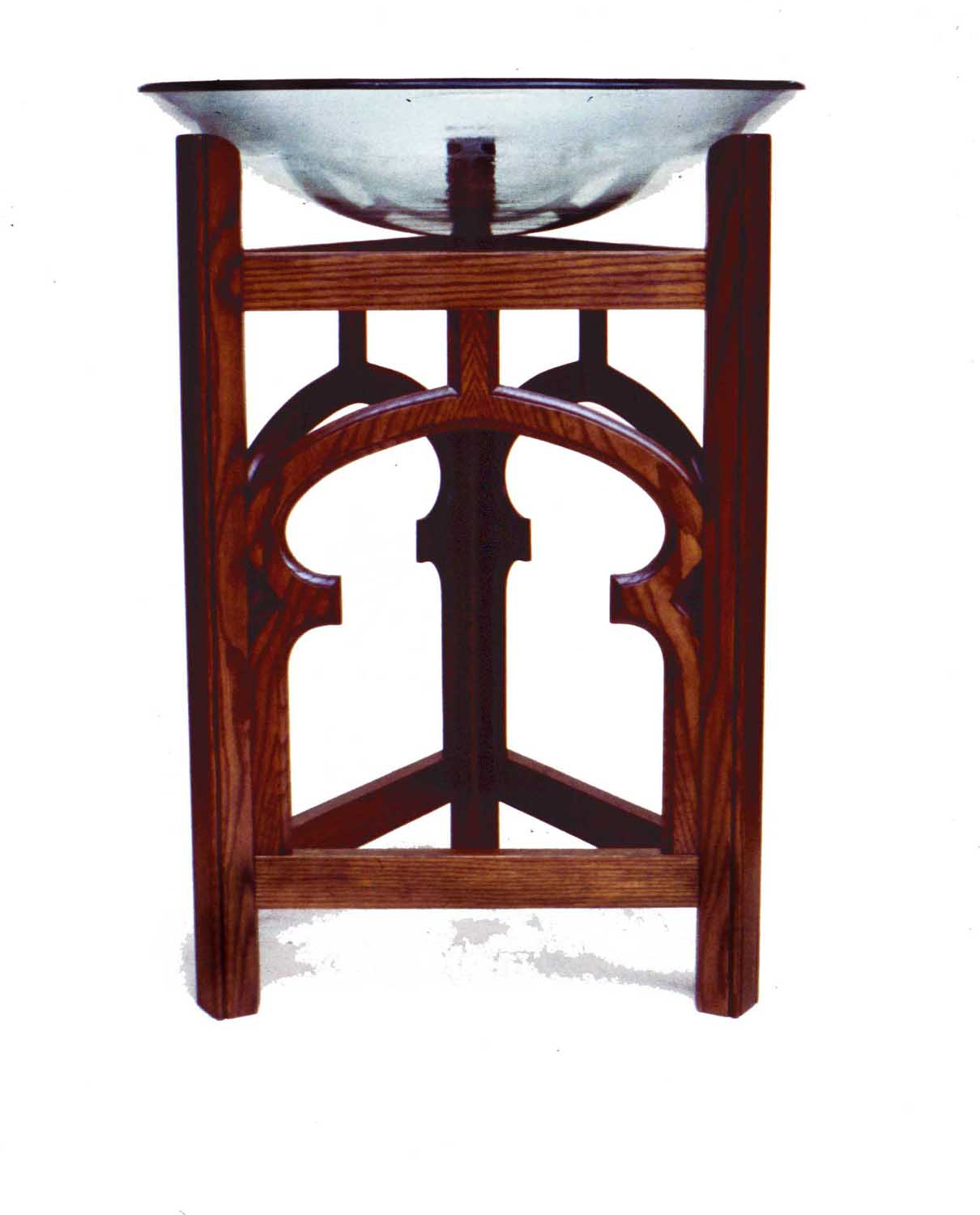 Picture of Plate Glass Baptismal Font
