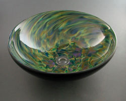 Blown Glass Sink - Confetti