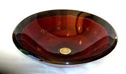Castellizone Round Glass Vessel Sink