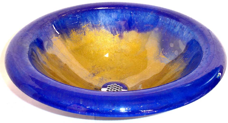 Picture of Oceanus II Round Self-Rimming Glass Sink