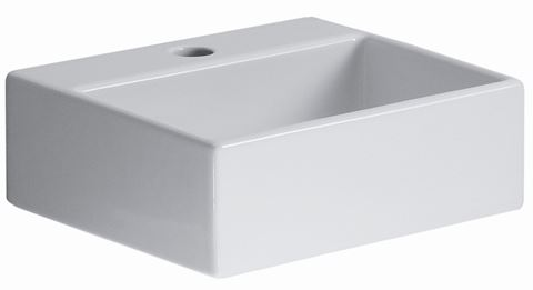 "Quarelo 13"" Italian White Ceramic Sink"