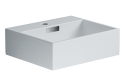 "Picture of Quarelo 16.5"" Italian White Ceramic Sink"