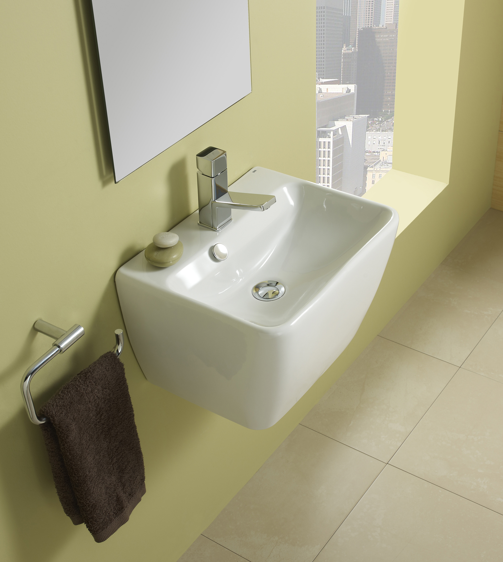 Picture of Bissonnet Emma 45 Italian Wall-Mount  Sink