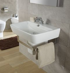 Picture of Bissonnet Emma Italian Semi-Pedestal Sink
