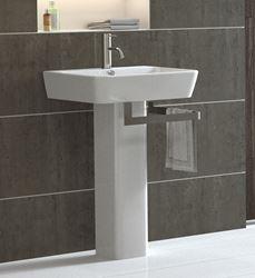 Bissonnet Emma Italian Pedestal Sink 2