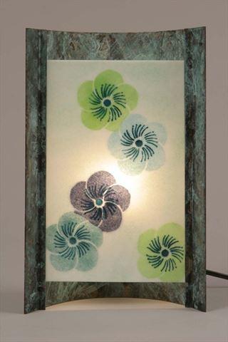 Unique Lamps | Blue Blossom