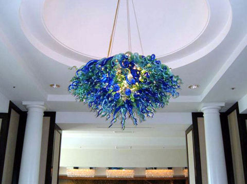 Blown Glass Chandelier | Sofitel
