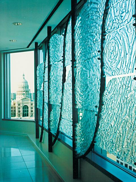 Picture of Glass and Steel Wall