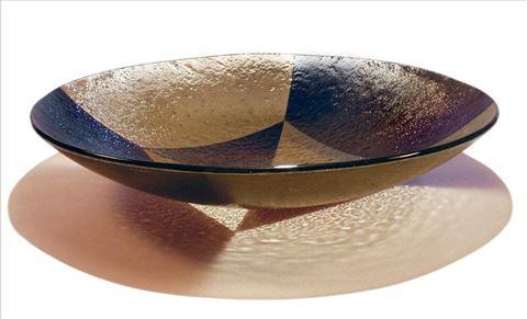Chocolate Harlequin Bowl