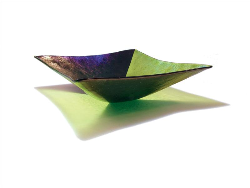 Picture of Green Square Harlequin Bowl