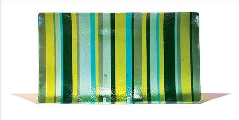 Green Italian Line Platter