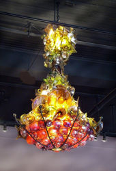Picture of Blown Glass Chandelier | Satsuma
