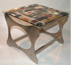Picture of Retro Martini End Table