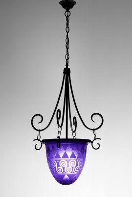 Picture of Pendant Light | Blue Diamond
