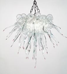 Picture of Blown Glass Chandelier 207