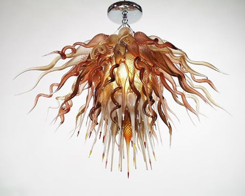 Blown Glass Chandelier 217