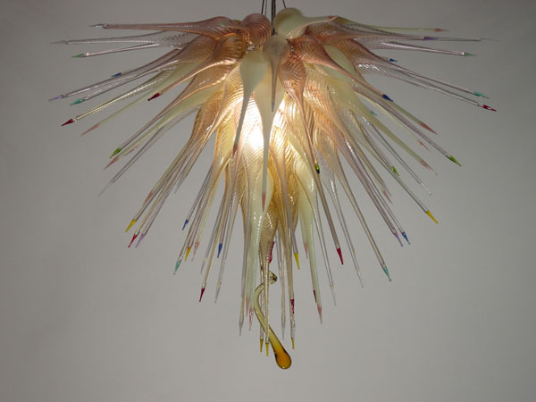 Picture of Blown Glass Chandelier 394