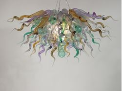 Blown Glass Chandelier 395