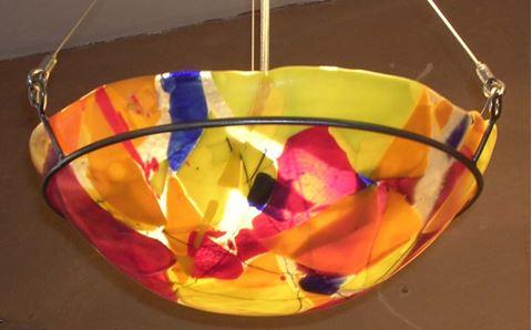 Scrap Glass Pendant II