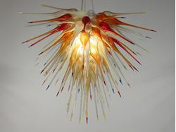 Picture of Blown Glass Chandelier 359
