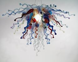 Picture of Blown Glass Chandelier 223
