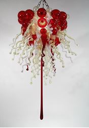 Picture of Blown Glass Chandelier 226
