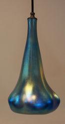 Pendant Light | Blue Optic Hanging Phoenix Morph