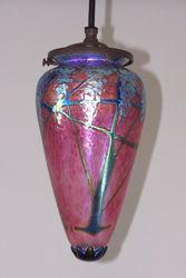 Pendant Light | Ruby Wisteria Amphora