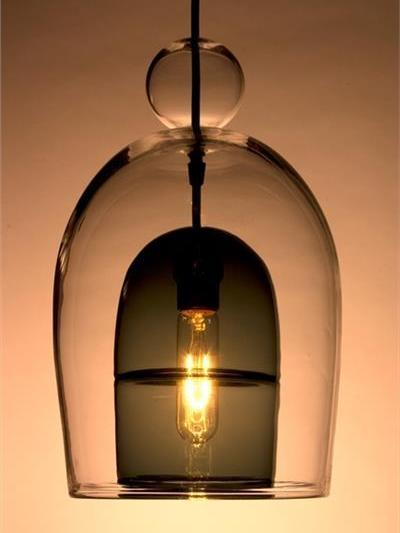 Picture of Pendant Light | Miro Veiled | Short Shade with Ball