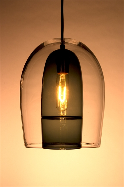 Picture of Pendant Light | Miro Veiled | Tall Shade