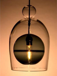 Picture of Pendant Light | Miro Veiled | Sphere with Ball