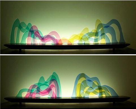 Seuss Glasscape Lighting Sculpture