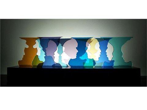 Happy Hour Glasscape Lighting Sculpture