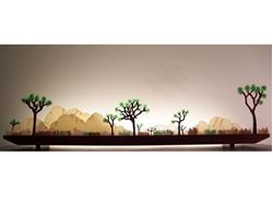 Picture of Desert Dawn Glasscape Lighting Sculpture