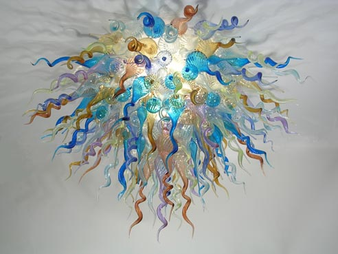 Picture of Blown Glass Chandelier 265