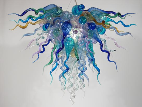 Picture of Blown Glass Chandelier 327