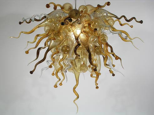 Picture of Blown Glass Chandelier 276