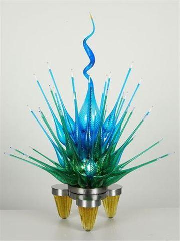 Summer Blossom Glass Sculpture