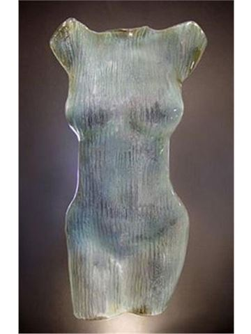 Diana Glass Torso Sculpture