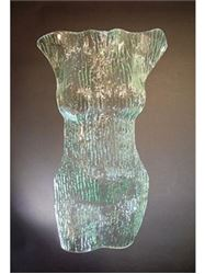 Picture of Earth Goddess Glass Torso Scupture