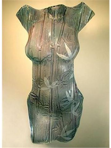 Noiki Glass Torso Sculpture
