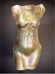 Picture of Serpentine Glass Torso Sculpture