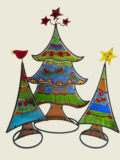 Picture of Christmas Trees Sculpture