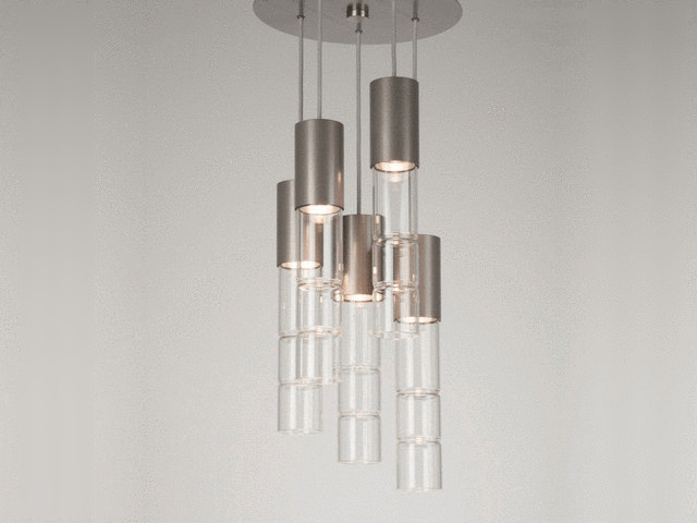 Picture of Pendant Chandelier | Bamboo 5