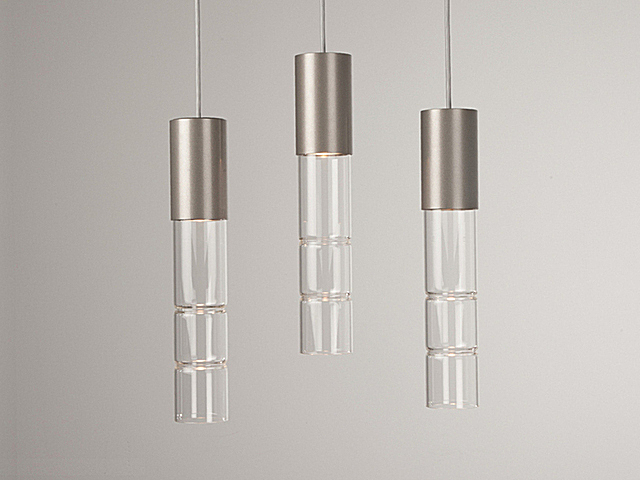 Picture of Linear Chandelier | Bamboo 3