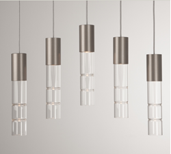 Linear Chandelier | Bamboo 5