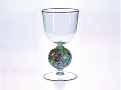 Murrini Ball Goblet