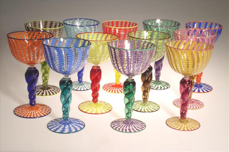 Picture of Whirligig Goblets