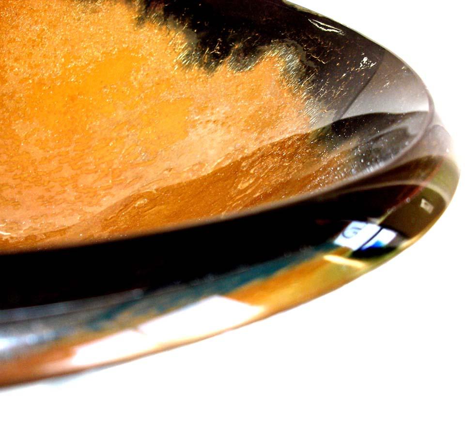 Picture of Bella Oro I Round Glass Vessel Sink