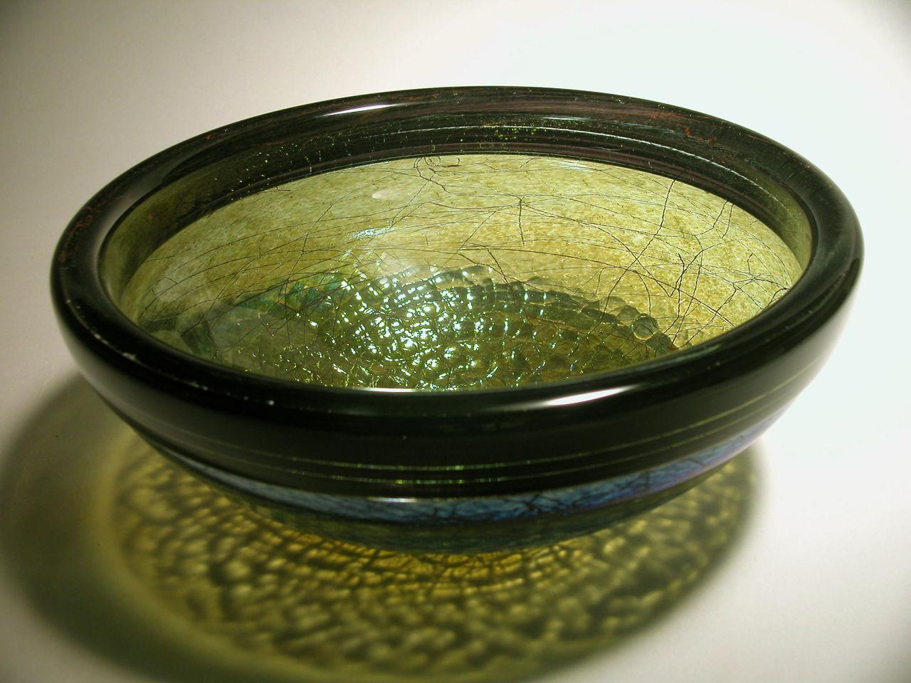 Blown Glass Sink   Jade Stringer